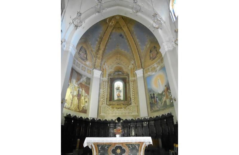 Abside della chiesa di Santa Maria Immacolata a Senigallia