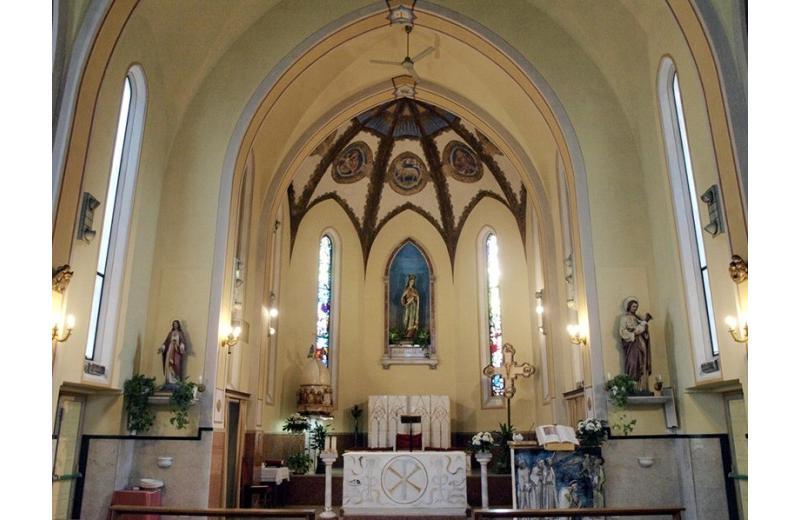 Abside della chiesa di santa Maria della Pace a Senigallia