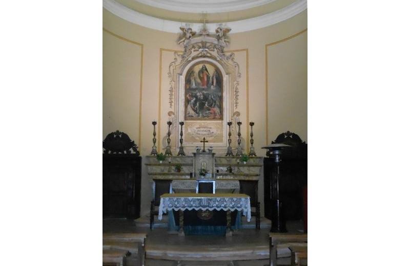 Altare della chiesa della Maddalena di Senigallia