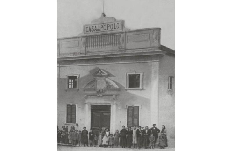 Casa del popolo a Roncitelli di Senigallia