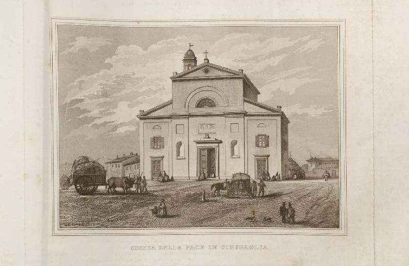 Chiesa della Pace in Senigallia (1860) Bottega Romana