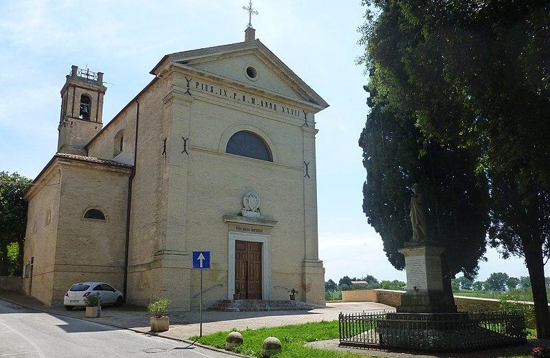 Chiesa di San Giovanni Battista a Roncitelli di Senigallia