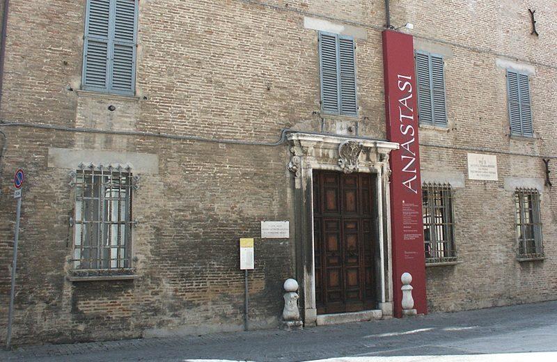 Facciata di Palazzo Mastai Museo Pio IX a Senigallia