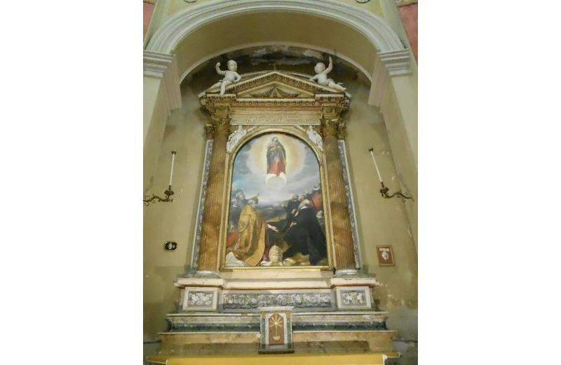Immacolata Concezione Antonio del Giudice (sec XVI), Chiesa della Maddalena Senigallia
