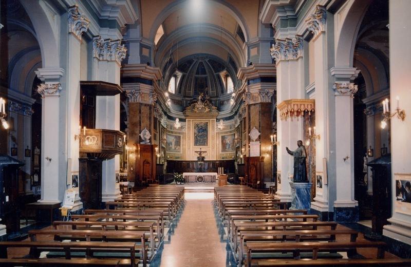 Interno della Cattedrale di Senigallia