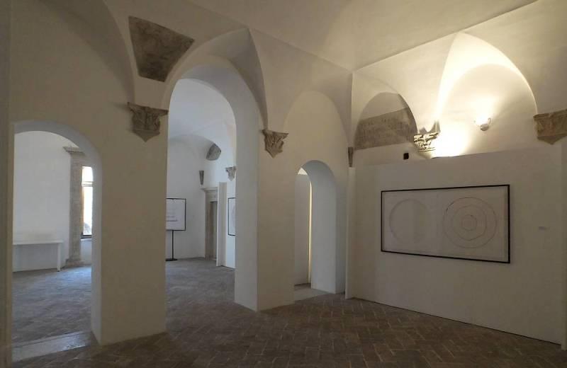 Interno della zona residenziale della Rocca Roveresca di Senigallia