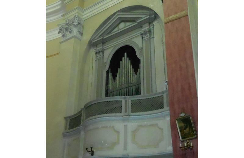 Organo della Chiesa della Maddalena di Senigallia costruito da don Pietro Nacchini