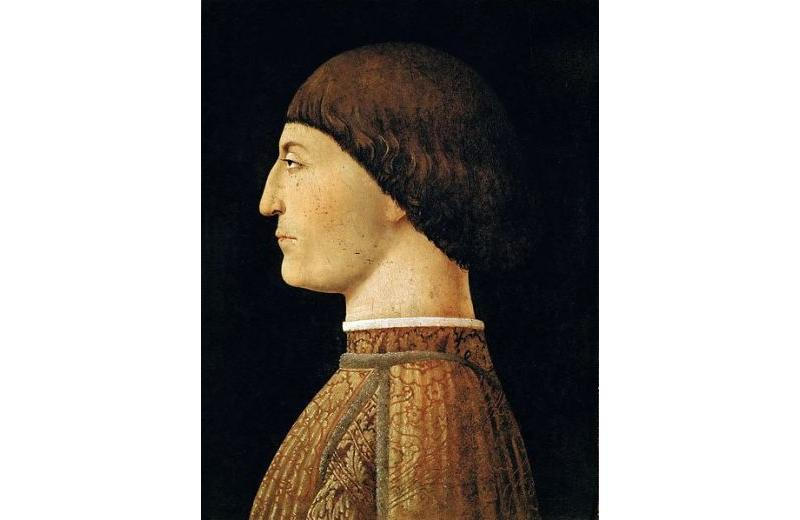 Piero della Francesca Ritratto di Sigismondo Pandolfo Malatesta