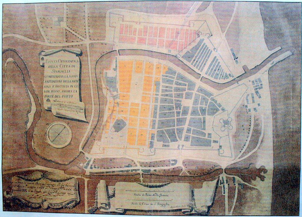 Progetto di ampliazione di Senigallia del 1737