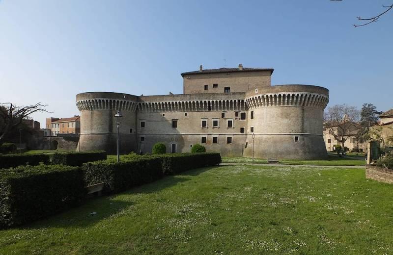 Rocca Roveresca di Senigallia lato mare