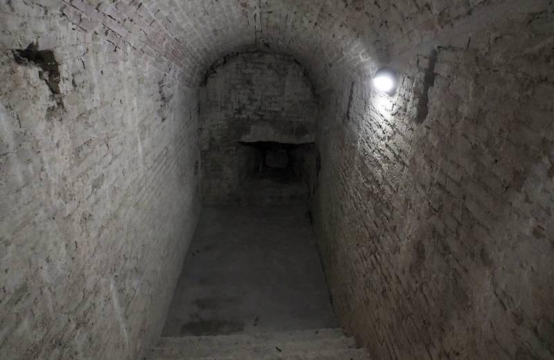 Sotterranei della Rocca Roveresca di Senigallia