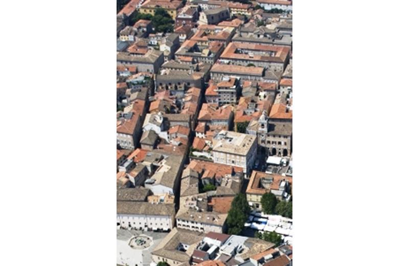 Via Arsilli particolare di foto aerea Leopoldi