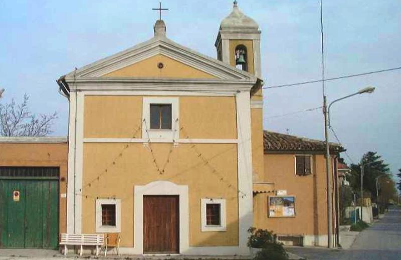 chiesa di santa Liberata a Roncitelli di Senigallia
