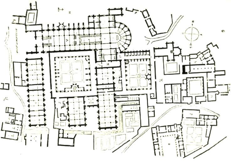 Abbazia di Clairvaux (Chiaravalle), nella diocesi di Langres