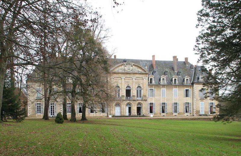 Antico palazzo abbaziale, oggi a Château de la Fertéa Chalon-sur-Saône in Borgogna