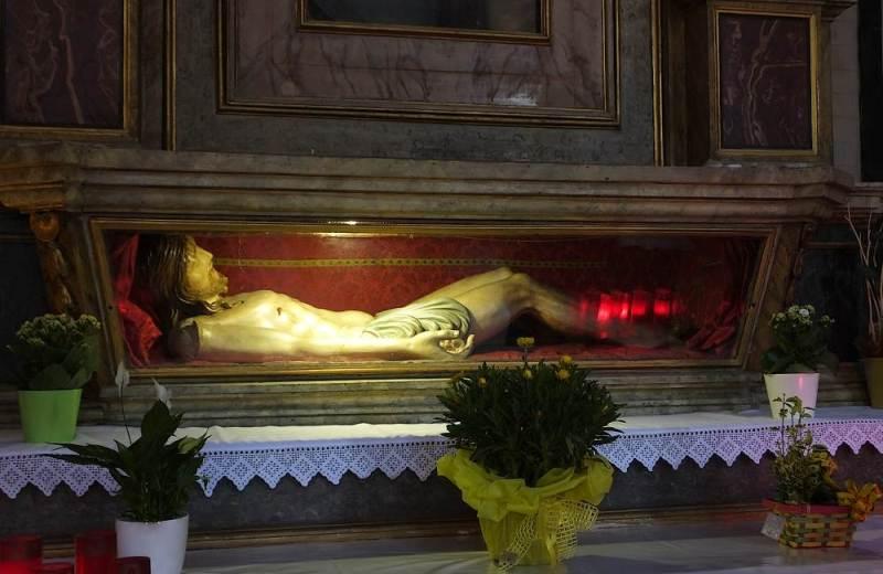 Deposizione di Gesù nell'Abbazia Santa Maria di Castagnola a Chiaravalle
