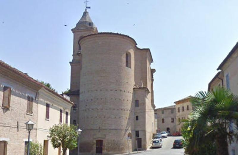 Esterno della Chiesa abbaziale di Santa Maria Assunta