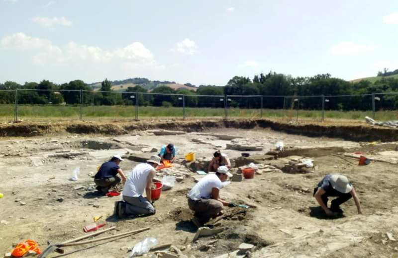 Ostra Antica campagna di scavo archeologico 'Le Muracce' 2018