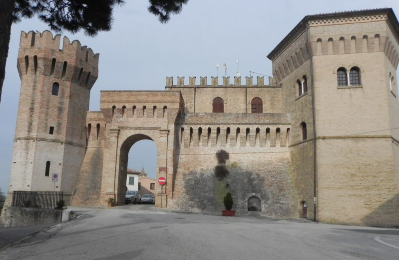 Porta Romana a Barbara
