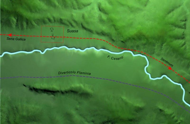 Sito del Parco Archeologico dell'antica Città Romana di Suasa