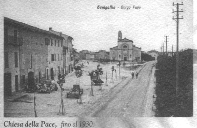 Chiesa della Pace fino al 1930