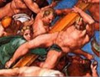Arcangelo Gabriele di Michelangelo censurato