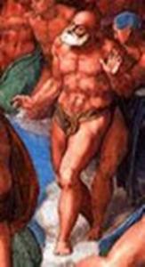 Giobbe o Adamo o Abramo di Michelangelo censurato