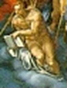L'Arcangelo Gabriele con il libro degli eletti di Venusti