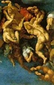 Niccolo III al secolo Giovanni Gaetano Orsini e un Angelo che respinge un reprobo di Venusti