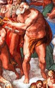 San Pietro,  Apostolo di Michelangelo censurato