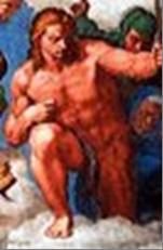 San Sebastiano, Martire di Michelangelo censurato