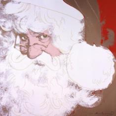 Andy Warhol. Santa Claus 1981,