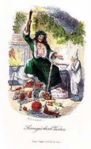 Babbo Natale vestitio di verde
