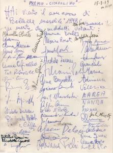 Senigallia Premio Cicciolino 15 08 1979