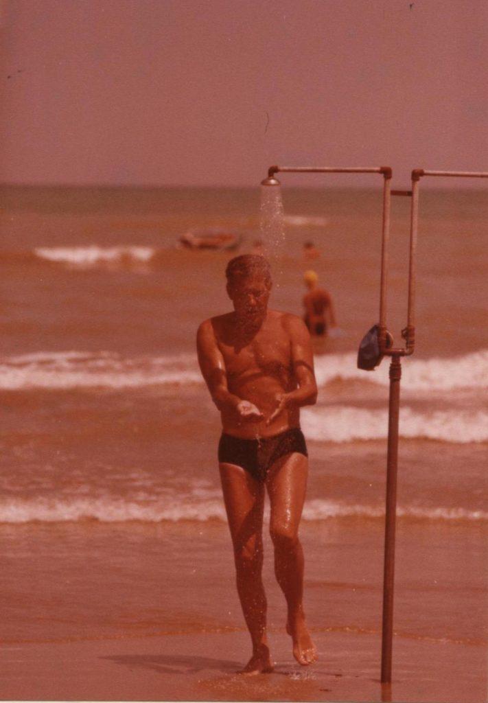 Il bagno al mare fino all'ultimo giorno