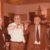 Pietro Molinari brinda con i cognati Tullio Cerri e Carlo Travaglini